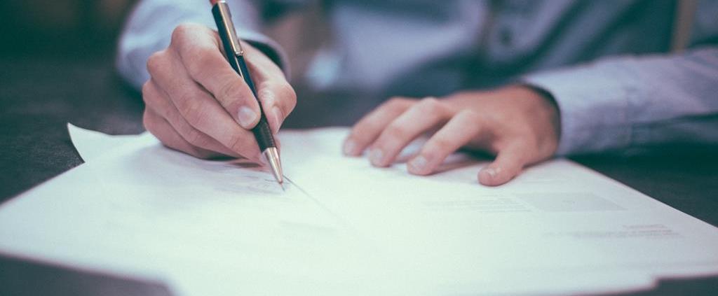assinar documento legal
